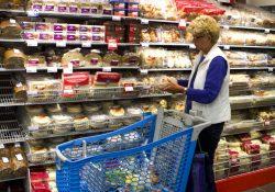 Albert Heijn winkel brood