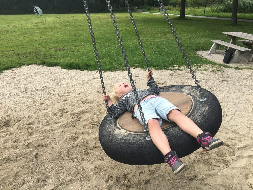 Spelen in het Brediuspark Woerden