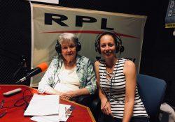 Jans Baan RPL FM Studio met Sylvia