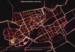 Hardloopactiviteiten hardlopen heatmap Woerden