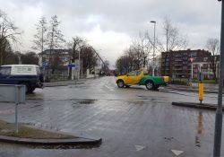 Oostdam Woerden afgesloten storm januari 2018