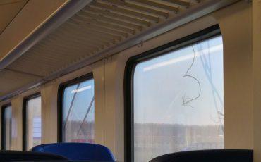 Trein 14 februari gebroken bovenleiding