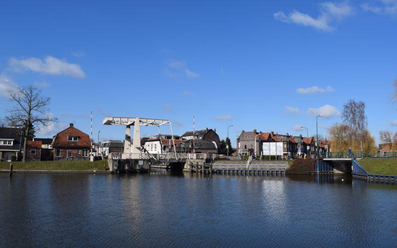 Singel Rozenbrug haven Woerden