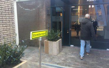 Stembureau gemeenteraadsverkiezingen 2018 Woerden plein 7 Concordia