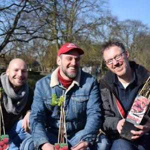 Wesly van Halen Toon Beerens Geral Overbeek