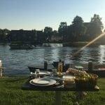 Barbecueën Singel Nassaukade Woerden