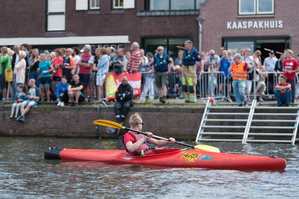 Triathlon Woerden kano Boerinn