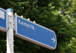 Badeendjes verkeersbord Kamerik OUdelandseweg Oostdam Stationweg Snellerbrug