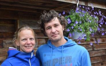 Brecht en Jolanda van der Laan
