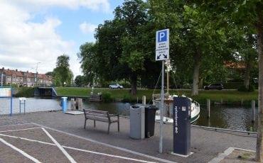 Oplaadpaal elektrische auto's Haven Emmakade Woerden
