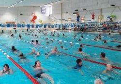 Batensteinbad zwembad zwemvierdaagse zwem4daagse Woerden juli 2018