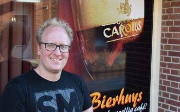 Jens van Riel bierbrouwen Brandbier wedstrijd winnaar Gose Bierhuys