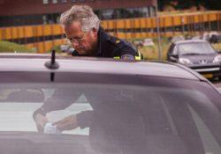Bekeuring politie Woerden cap