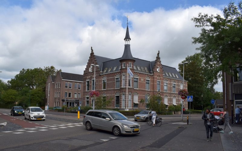 Kruispunt ABN-Amrobank Westdam Rijnstraat Meulmansweg