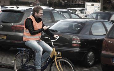 Datacount auto's tellen in Woerden