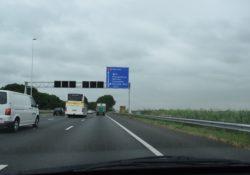 Afrit 13 woerden west Nieuwerbrug A12