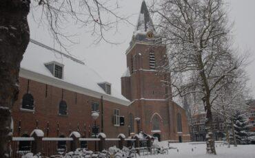 Sneeuw in Woerden