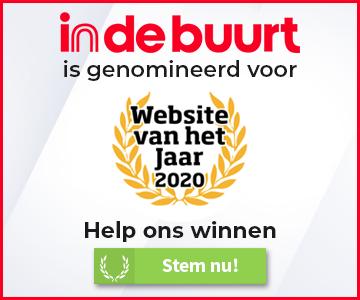 indebuurt genomineerd voor website van het jaar 2020