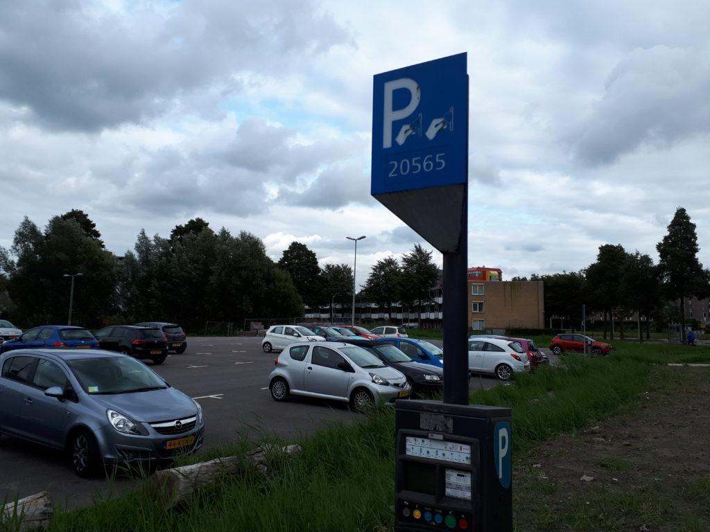 Parkeerterrein Denemarkenlaan Zoetermeer