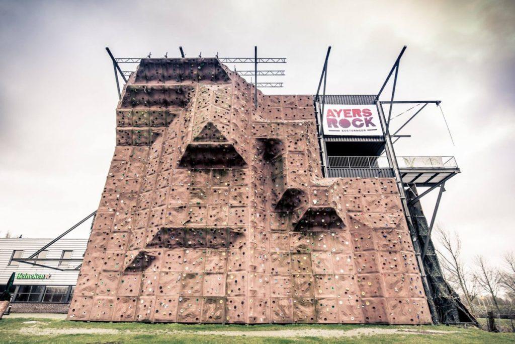 In- en outdoor adventure center Ayers Rock Zoetermeer